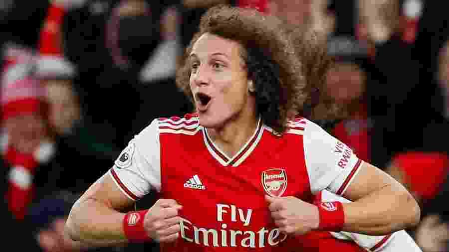 David Luiz não tem desejo de deixar o Arsenal, segundo empresário Kia Joorabchian - David Klein/Reuters