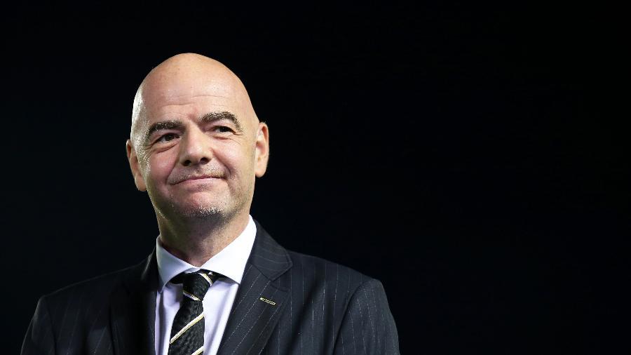 Gianni Infantino, presidente da Fifa - Buda Mendes - FIFA/FIFA via Getty Images