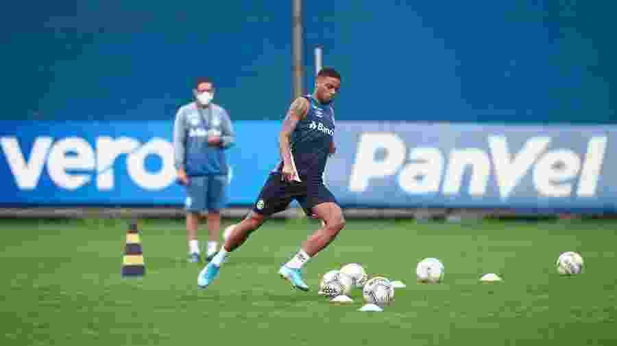 André rescindiu vínculo que possuía com o Grêmio na tarde de hoje - Lucas Uebel/Grêmio FBPA