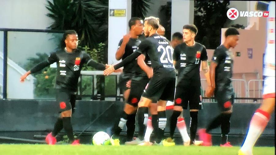 Vasco da Gama venceu o Porto Velho (RO) em jogo-treino em São Januário (RJ) - Reprodução / Vasco TV