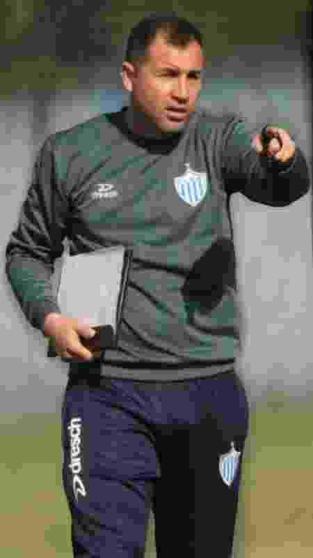 Márcio Nunes, técnico do Novo Hamburgo, que encara o Grêmio na semifinal do returno do Gauchão - João Goularte/DVG/Novo Hamburgo - João Goularte/DVG/Novo Hamburgo