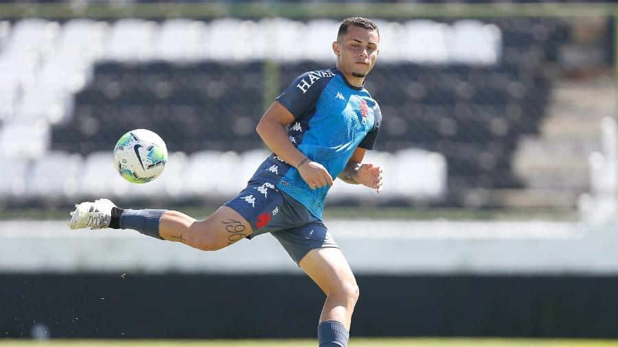 Bruno Gomes reconquistou espaço no Vasco sob o comando de Luxemburgo - Rafael Ribeiro / Vasco