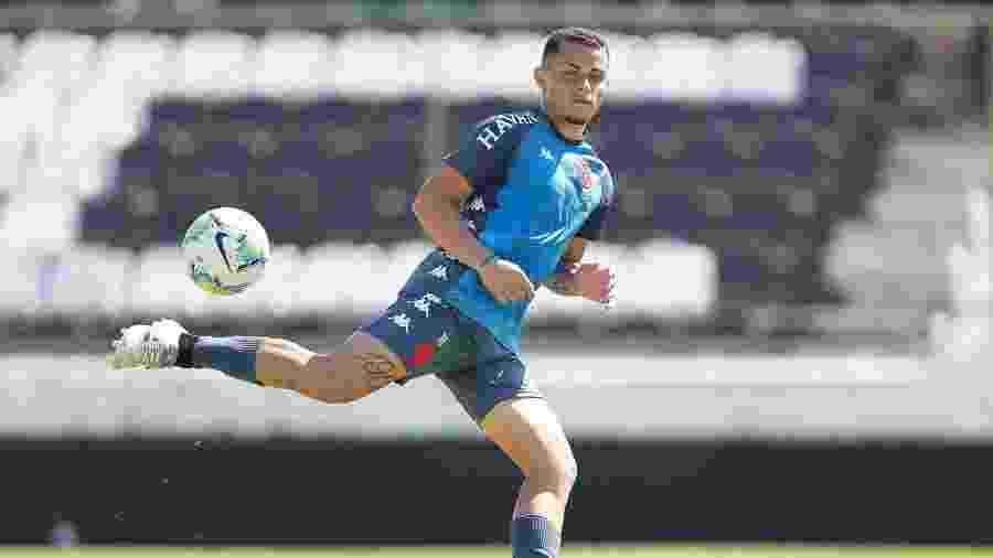 Volante Bruno Gomes foi um dos convocados do Vasco para a seleção sub-20. O outro foi o lateral Riquelme - Rafael Ribeiro / Vasco