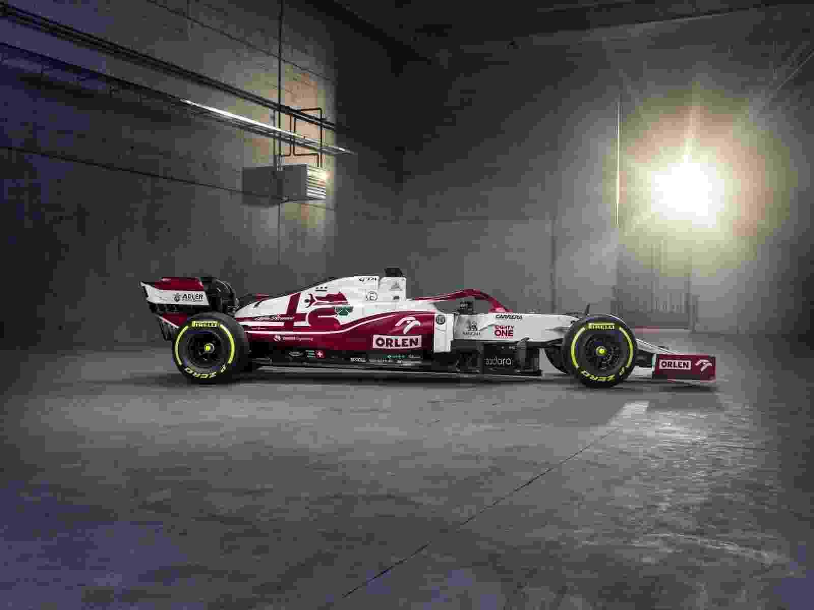 Alfa Romeo apresentou o C41, seu carro para a temporada 2021, em evento na Polônia - Divulgação/Alfa Romeo