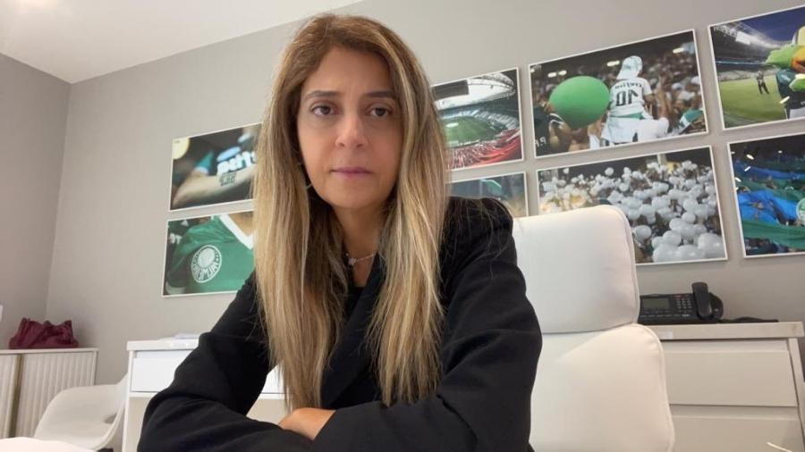 Leila Pereira, conselheira do Palmeiras, lamentou eliminação para o CRB - Reprodução/Twitter
