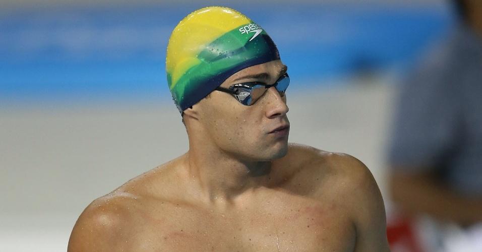 Leonardo de Deus, brasileiro da natação