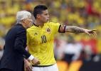 """Técnico da Colômbia diz """"ser incrível como James não joga no Real"""" - EFE/MAURICIO DUENAS CASTAÑEDA"""
