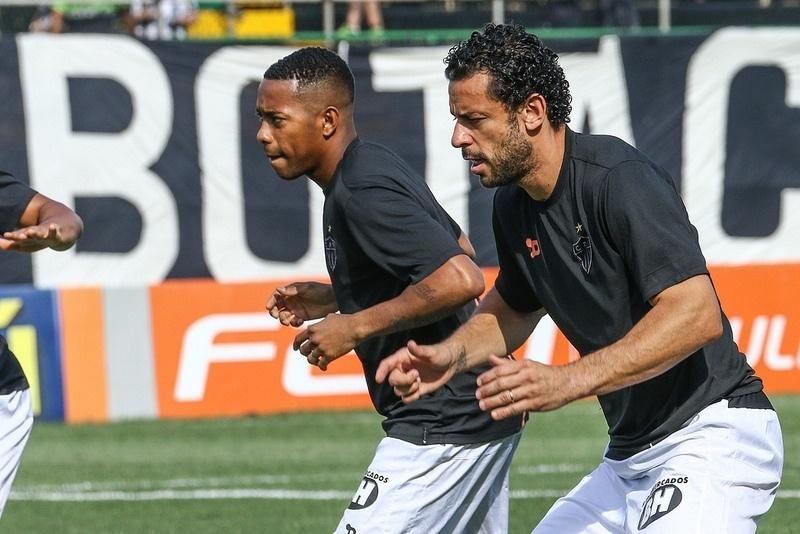 Juntos, Robinho e Fred já marcaram 25 gols neste Campeonato Brasileiro
