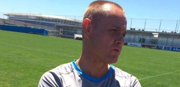 Preparador físico do Grêmio, Rogério Dias, justificou a escolha pelo CT para pré - Marinho Saldanha/UOL