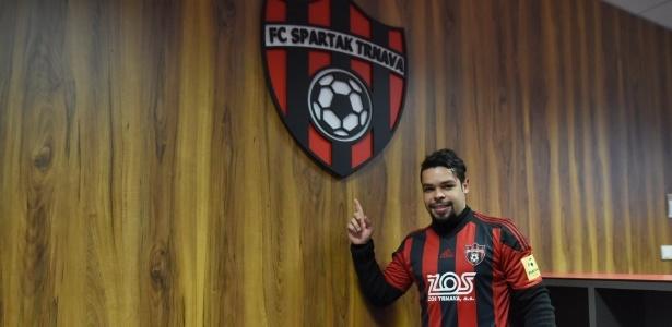 Atacante tem contrato com o Spartak Trnava até o fim da temporada 2017/2018
