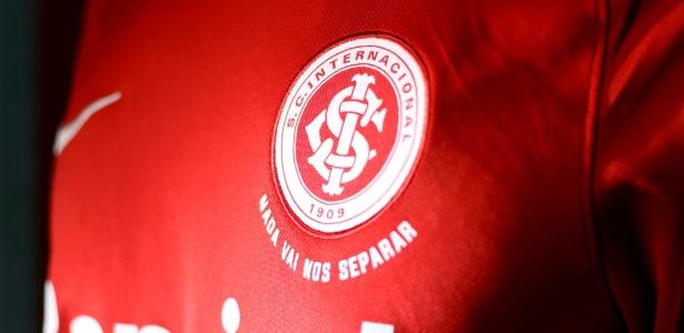 Camisa do Inter estilizada utilizada durante o início dos jogos da Série B