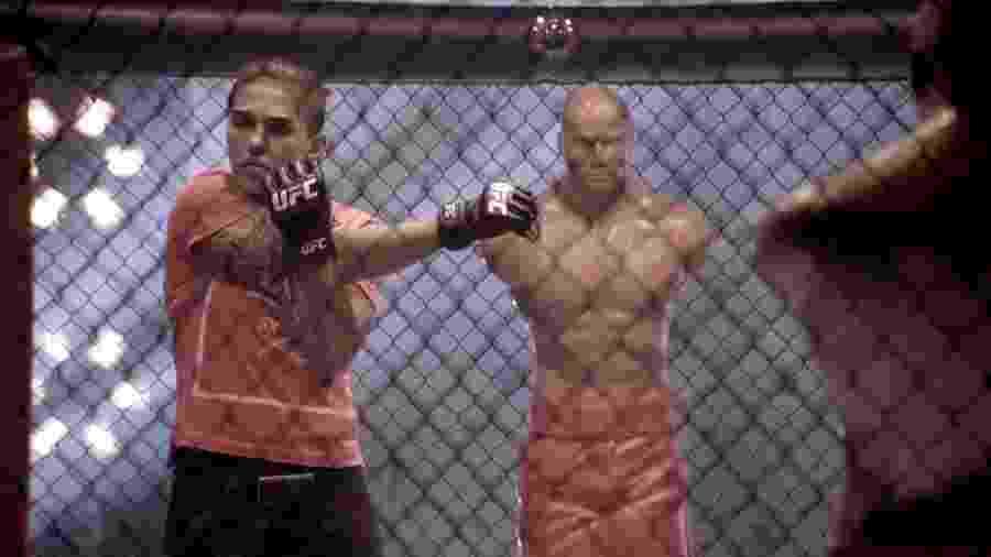Jéssica Bate-Estaca venceu o UFC Japão - Divulgação/Mixer