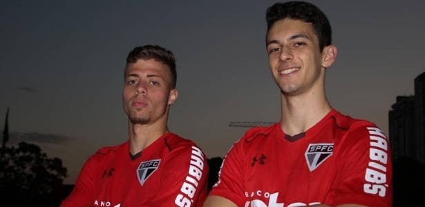 Lucas Fernandes e Shaylon são promessas do São Paulo