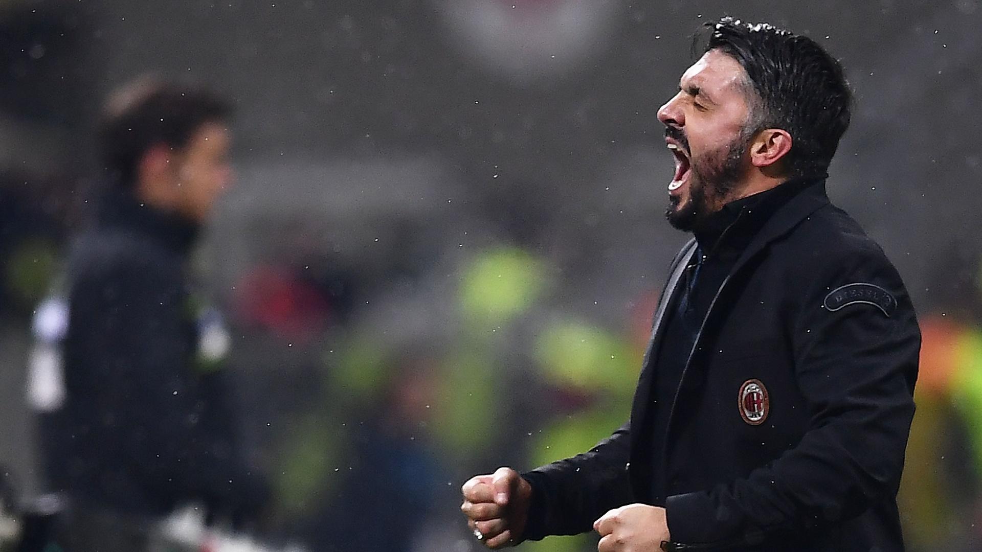 Gennaro Gattuso, técnido do Milan