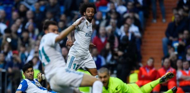 Marcelo deu duas assistências na última rodada do Campeonato Espanhol