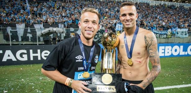 Arthur e Luan estão entre jogadores mais valiosos da América do Sul