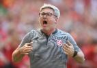 Repleto de desfalques, Inter testa resultado de competição alta no grupo - Ricardo Duarte/SC Inter