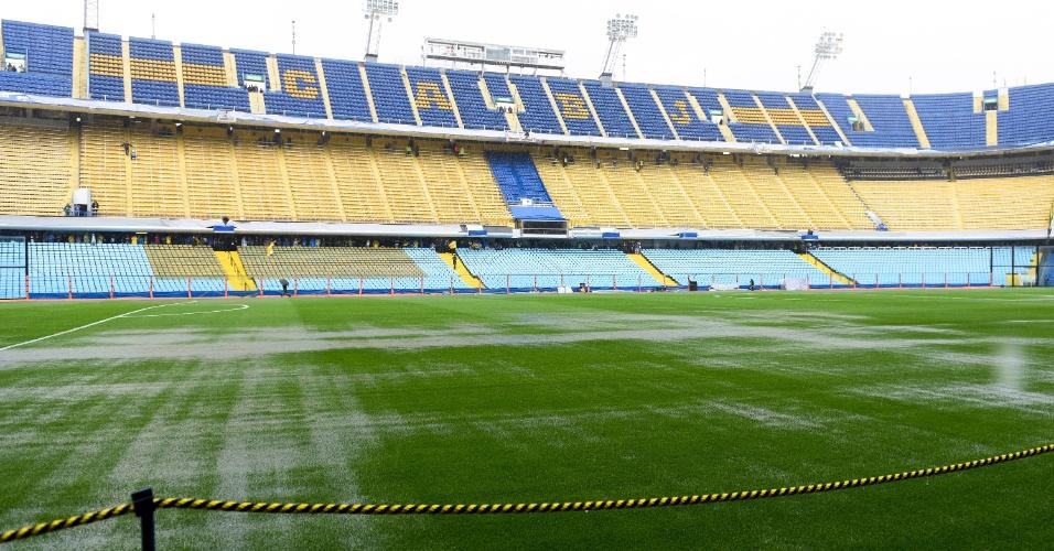 Final entre e Boca e River foi adiada por causa de fortes chuvas em Buenos Aires