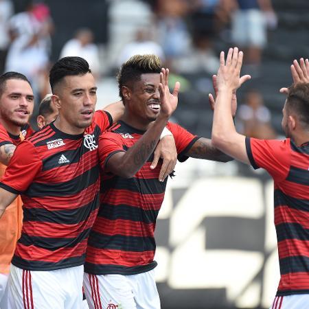 Em boa fase no Flamengo, Bruno Henrique é o jogador mais barato até aqui no jogo - Thiago Ribeiro/AGIF
