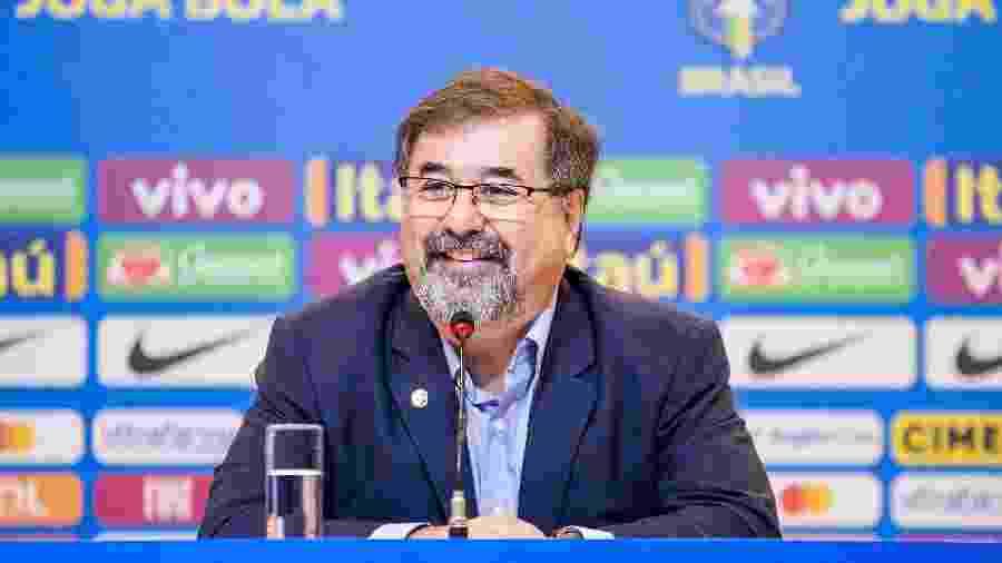 Mesmo após a saída de Vadão, Marco Aurélio Cunha segue como coordenador de futebol feminino da CBF - Rener Pinheiro / MoWA Press