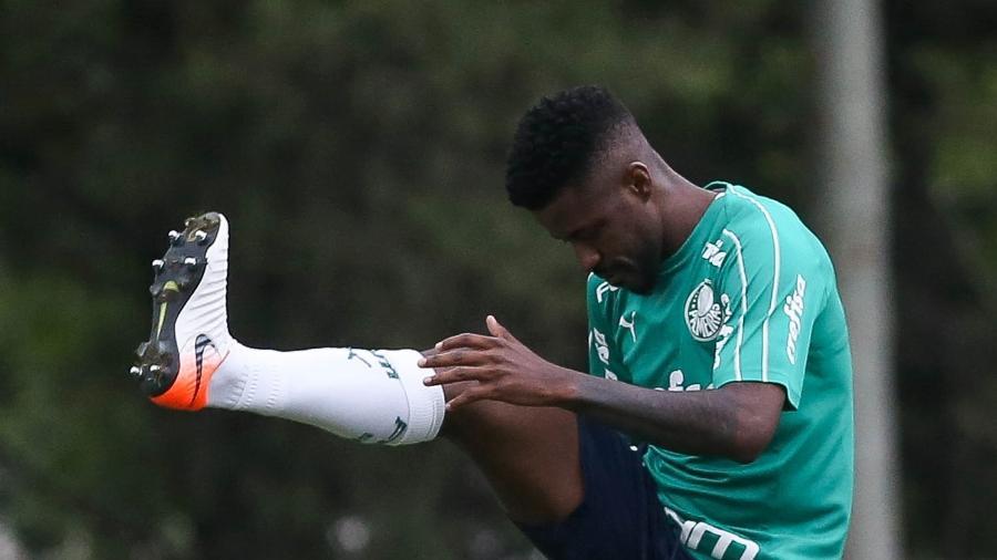 Ramires realizou treino na Academia de Futebol do Palmeiras nesta segunda-feira - Cesar Greco/Ag. Palmeiras/Divulgação