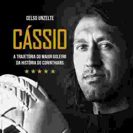 Capa da biografia do goleiro Cássio - Divulgação - Divulgação