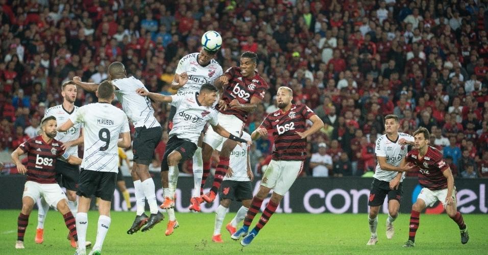3 - 64.844 pessoas - Flamengo 1 x 1 Athletico - 17/07 - Copa do Brasil - jogo de volta das quartas de final