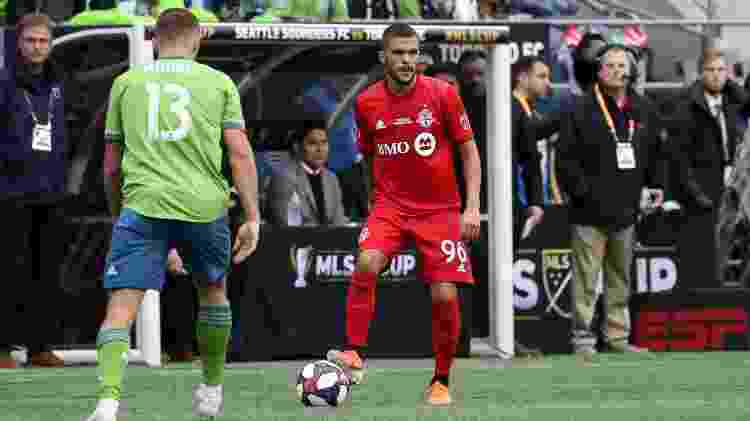 Auro, do Toronto FC - Andy Mead/ISI Photos/Getty Images - Andy Mead/ISI Photos/Getty Images