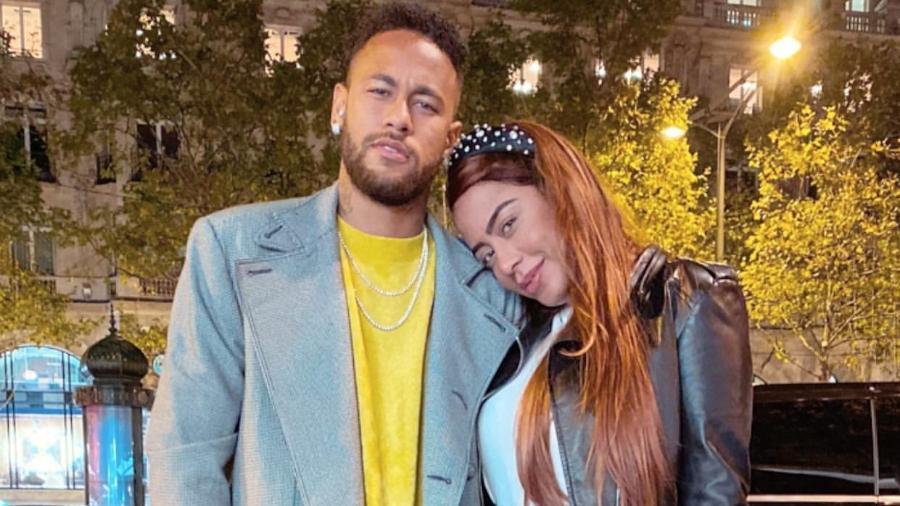 Neymar Jr. faz homenagem para irmã, Rafaella Santos - Reprodução/Instagram