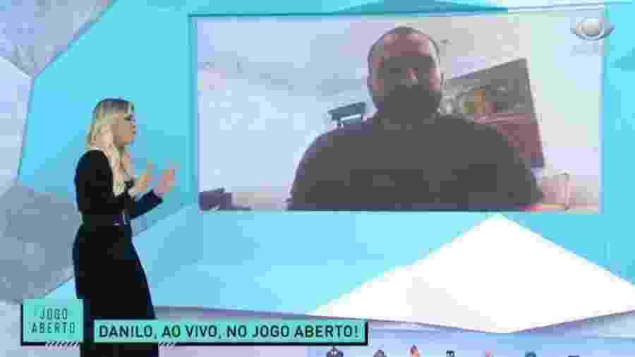 Danilo, ex-Corinthians, no Jogo Aberto - Reprodução/Band