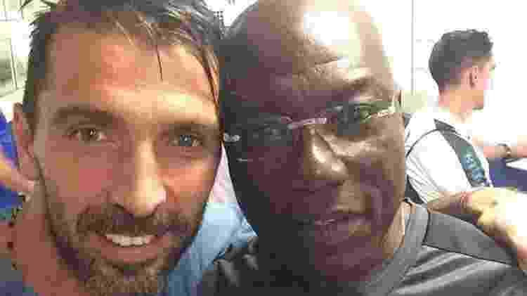 Nkono e Buffon - Reprodução/Instagram - Reprodução/Instagram