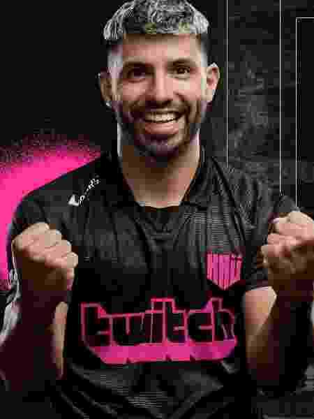 Sergio Aguero lança a KRÜ, equipe de esports - Reprodução