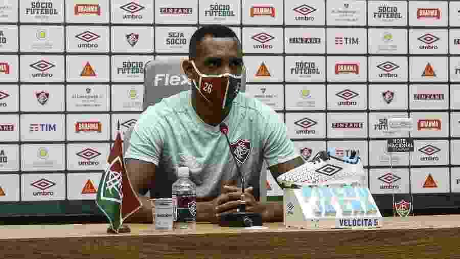Digão voltou ao time titular com Odair Hellmann e se desacou nos últimos jogos do Fluminense - Lucas Merçon/Fluminense FC