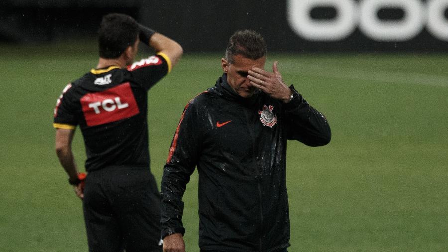 Vagner Mancini lamenta atuação do Corinthians contra o RB Bragantino  - Saulo Dias/AGIF
