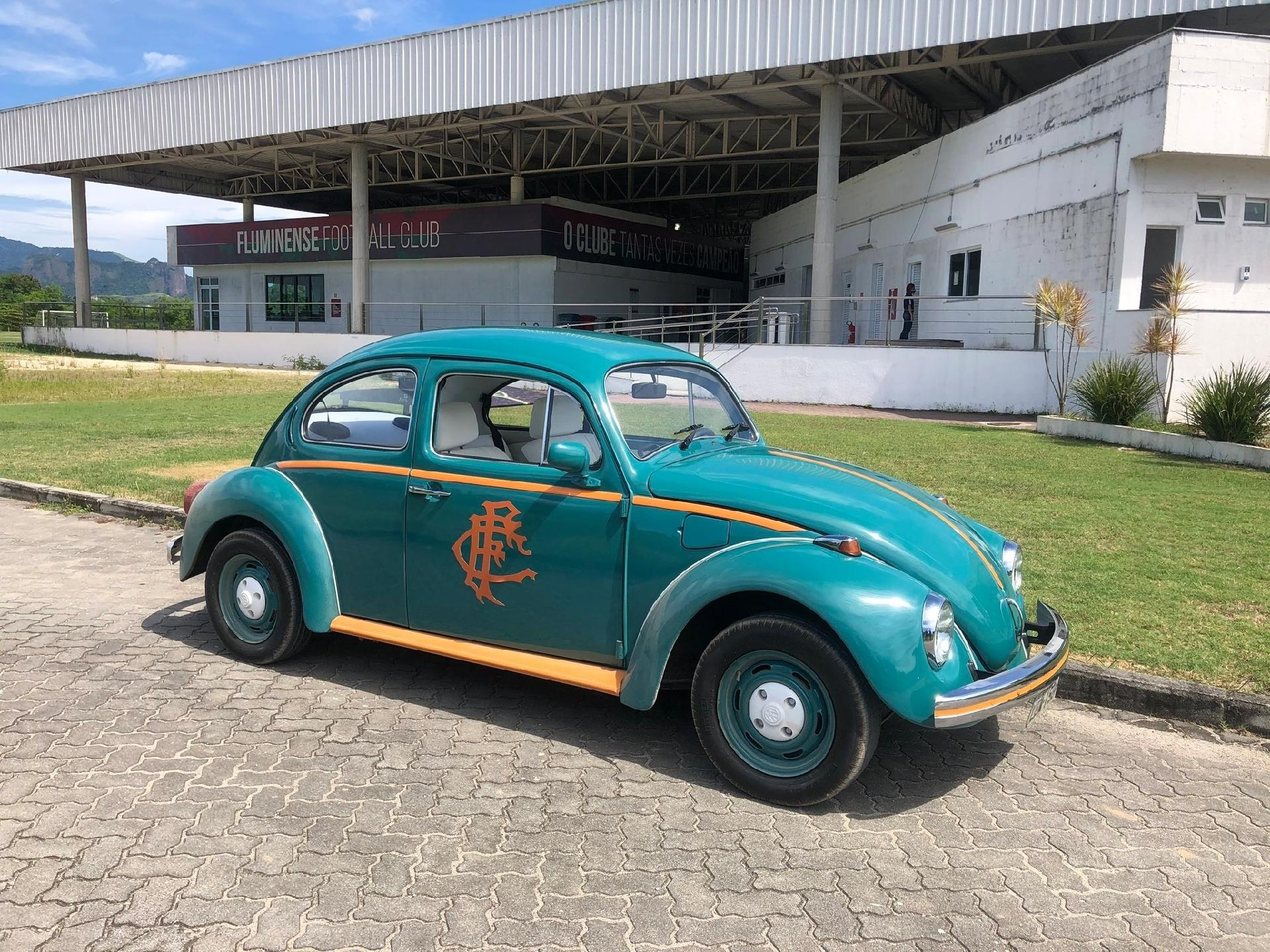 Flusquinha, carro dos jogadores Yago e Nino, do Fluminense