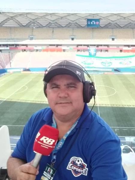 Cleiber Junior, radialista esportivo, morreu de covid - Reprodução