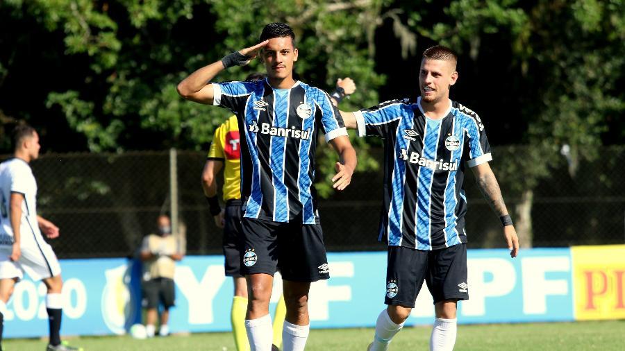 Ricardinho marcou nove gols em 12 jogos pelo Grêmio no Brasileiro sub-20 do ano passado - Rodrigo Fatturi/Grêmio