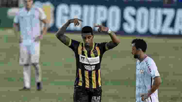 Alef Manga - Voltaço x Fluminense - Thiago Ribeiro/AGIF - Thiago Ribeiro/AGIF