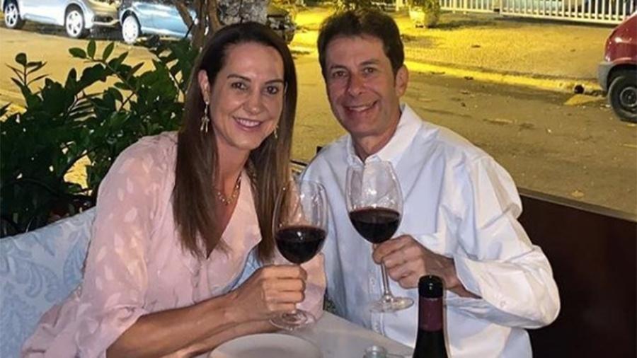 Fernanda Venturini e o novo namorado, José Carlos P. de Mello Freire - Reprodução/Instagram/Fernanda Venturini