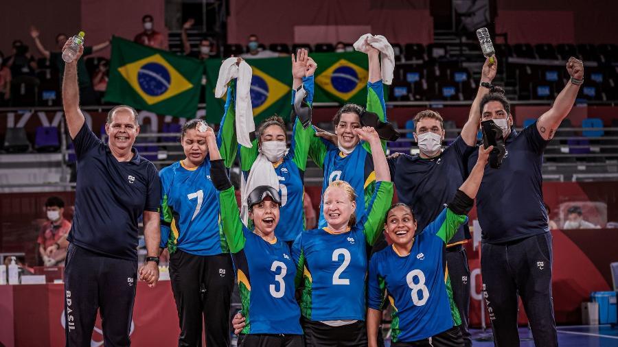 Seleção feminina de goalball está nas semifinais  - Ale Cabral/CPB