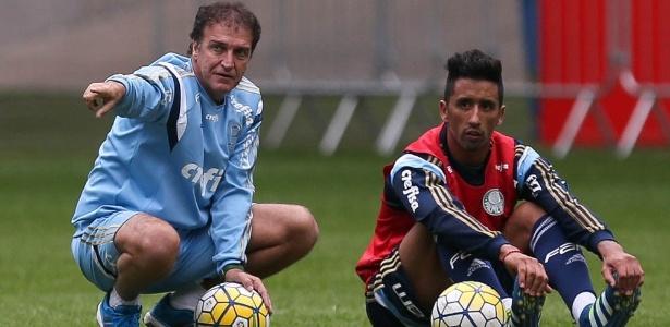 Barrios ganhou uma chance como titular na estreia do Palmeiras no Brasileiro