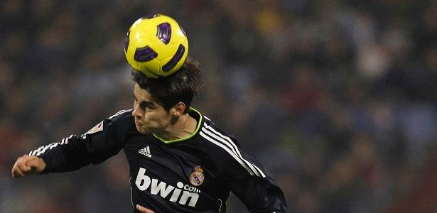Álvaro Morata em ação na primeira passagem pelo Real Madrid