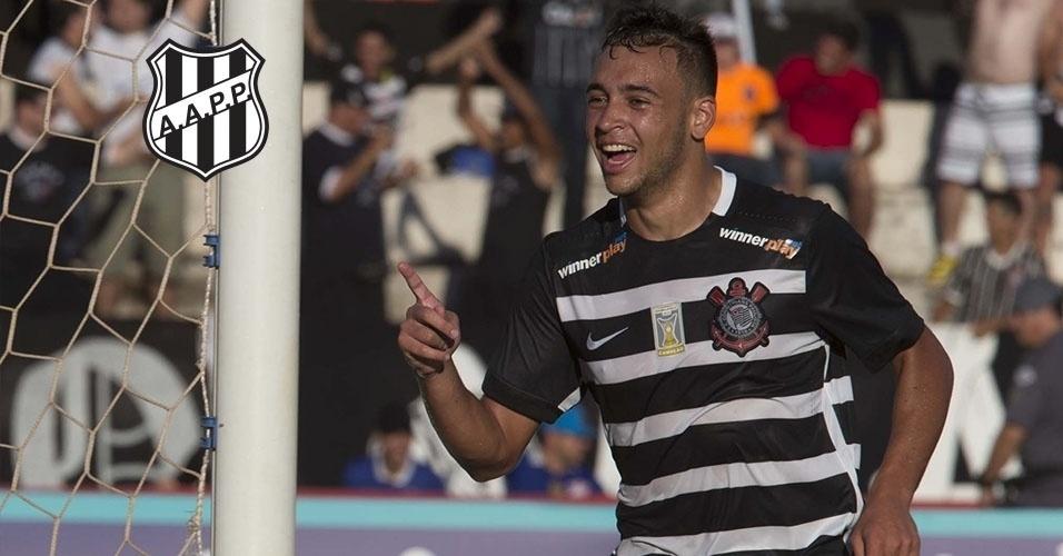 Montagem - Maycon (volante) - Do Corinthians para a Ponte Preta