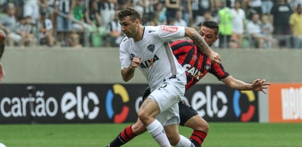 Lucas Pratto é um dos jogadores do Atlético-MG convocados para as Eliminatórias - Bruno Cantini/Atlético