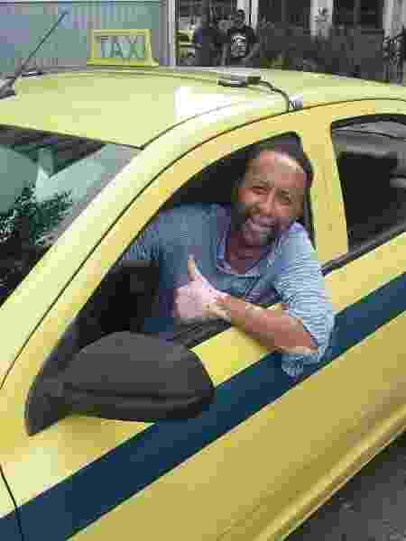 Ronald, ex-lateral do Fluminense, hoje trabalha como taxista no Rio de Janeiro - Reprodução/ArquivoPessoal - Reprodução/ArquivoPessoal