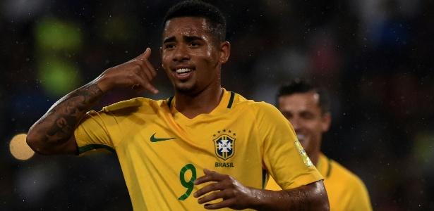 Gabriel Jesus vai voltar a jogar no Allianz Parque após deixar o Palmeiras