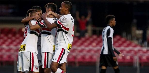Sub-20 do São Paulo marcou 202 gols em 73 partidas