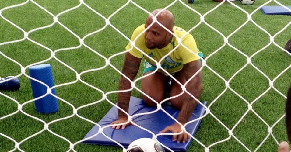 Felipe Melo academia Palmeiras