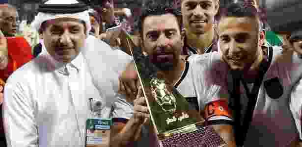 Xavi tem 38 anos e desistiu novamente de encerrar a carreira - Al Sadd/Facebook
