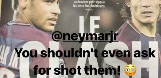 """Balotelli mandou recado: """"Neymar, você nem deveria pedir para cobrar os pênaltis"""""""